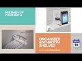 Organizer Bathroom Shelves Collection Freshen Up Your Bath