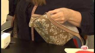 Gilaine Pirani ensina fazer uma bolsinha de mão