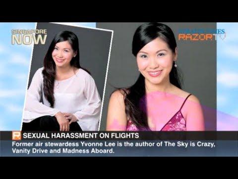 flight attendant sex video Bright orgasms during lesbian sex.