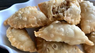 Easy Sweet Coconut Samosas/karanji/suryakala with Raihana
