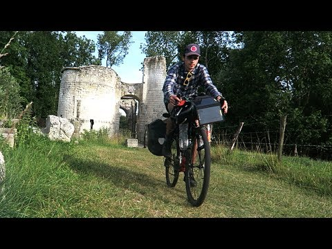 Bicycle Touring France Prt 3 - Castle Ruins! French Flea Market! Wild Camping! thumbnail