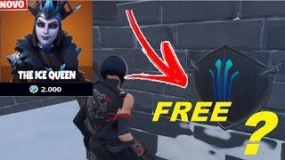 POSSIBLE BLACK SHIELD FREE and * NEW * SKIN QUEEN OF ICE. FORTNITE