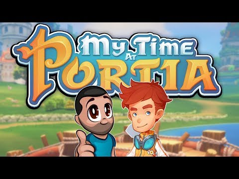 Stunning Stardew Valley meets Zelda Game - My Time at Portia Part 1
