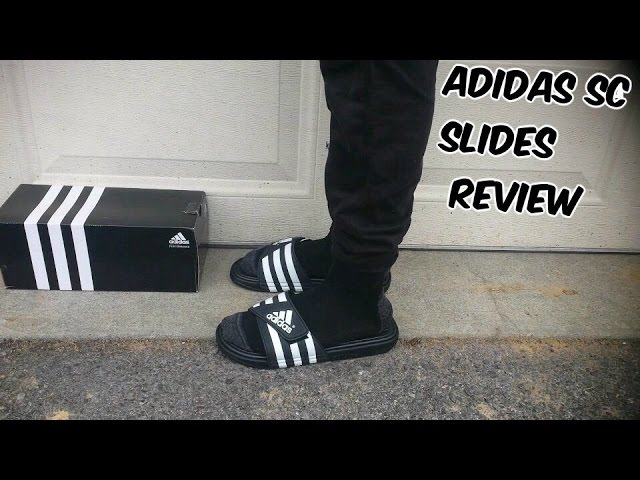Donde comprar los Angeles calidad asombrosa Adidas Supercloud (SC) Slides Review + On Feet Review (@hey_ozzy) - YouTube