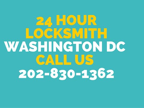 24 Hour Emergency Locksmith Services In Washington DC 866-681-0628