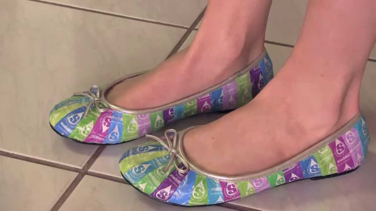 Candy Wrer Shoes Starburst Ballet Flats With Decoupage How To Socraftastic You