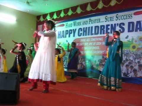 DONBOSCO PERAVALLUR GIRLS CHILDRENS DAY DANCE