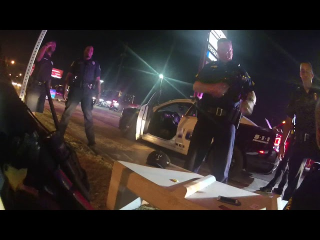 RAW VIDEO: Officer Danny Vasquez bodycam shows in-custody death of Tony Timpa