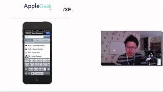 XE Currency pour convertir ses devises offline avec un iPhone