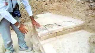 Achamenid Building with Babilonian Motif Discovered in Iran بنای تازه کشف شده هخامنشی