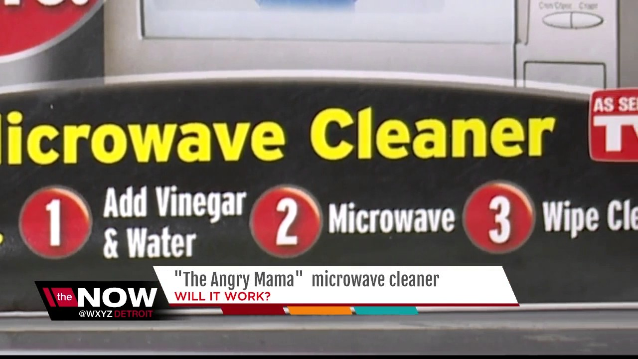 will it work angry mom microwave cleaner