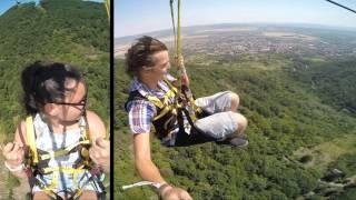 Extreme ZipLine - Zemplén Adventure Park - official video