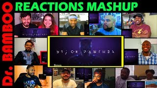 Honest Trailers - Black Panther REACTIONS MASHUP
