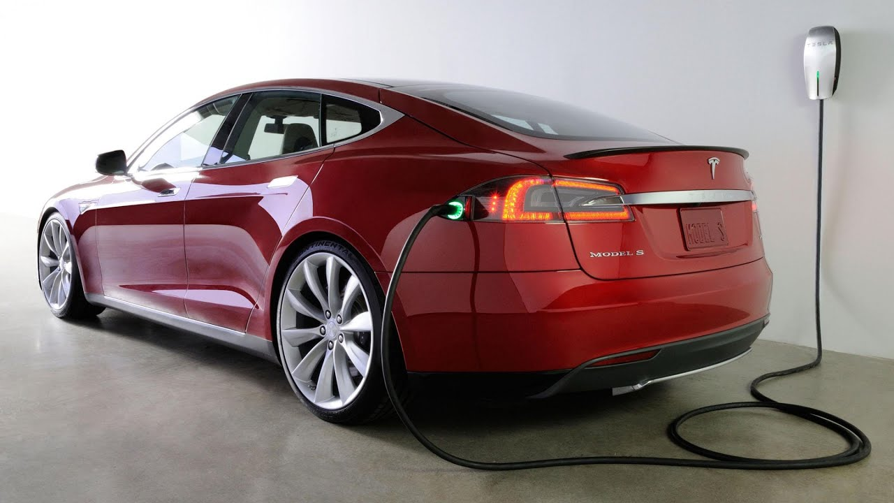 Tesla car battery