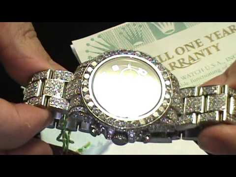 Hand Set VVS Rollie Daytona Education on Hand set custom watches