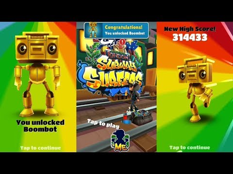 UNLOCKING BOOMBOT ( ROBOT ) ON SUBWAY SURFERS LONDON ( D2 )