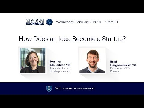 Webinar: How Does an Idea Become a Startup?