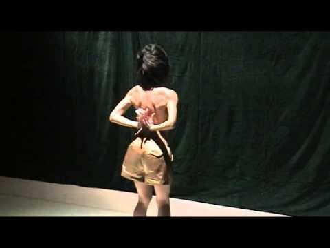 南阿豆舞踏ソロ公演『regeneration』2014.8.31 (AzuMinami Solo Butoh dance)