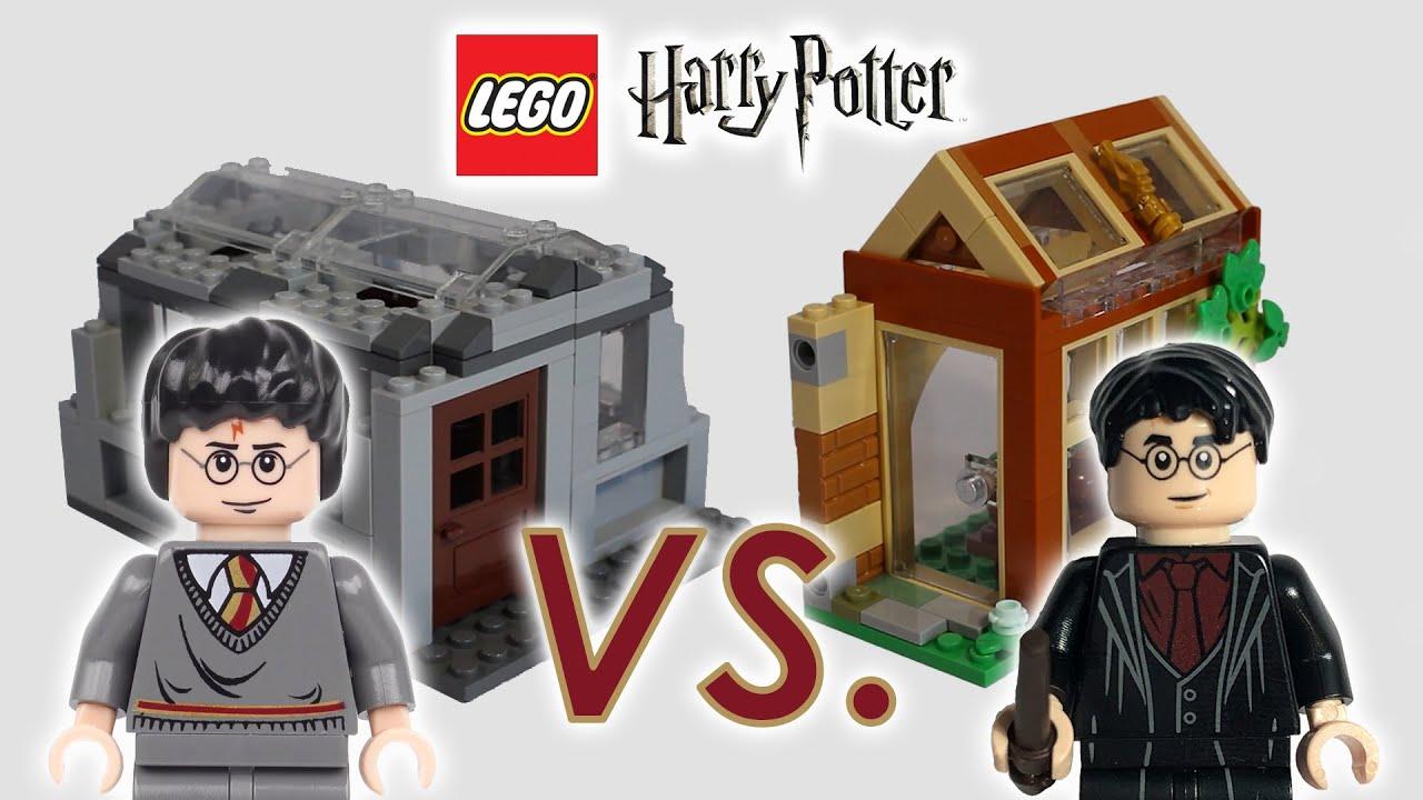 LEGO Harry Potter: Herbology Greenhouse Comparison 2007 vs ...