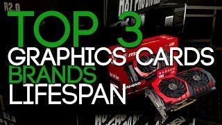 Top 3 GPU Brands: Lifespan Of The Cards.