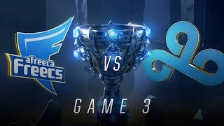 AFS vs C9 | Quarterfinal Game 3 | World Championship | Afreeca Freecs vs Cloud9 (2018)
