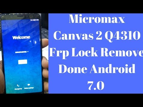 How to Flash & Frp Remove Micromax Selfie 2 Q4311 by Sp Tool by