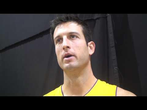Jason Kapono on joining the Lakers
