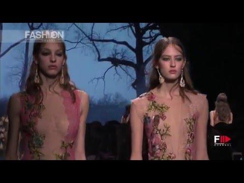 ALBERTA FERRETTI Full Show Fall 2016 Milan Fashion Week by Fashion Channel