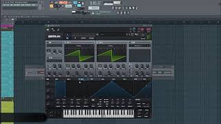 How To Martin Garrix Style Super saw In Serum