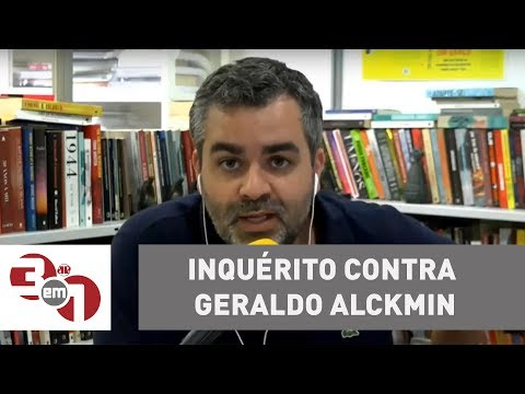 Ministério Público abre inquérito contra Geraldo Alckmin