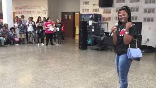 chythegreatest performing chy chy walk for conyers middle school 6th graders