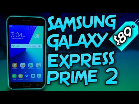 Samsung Galaxy Express Prime 2 Unboxing & First Impressions
