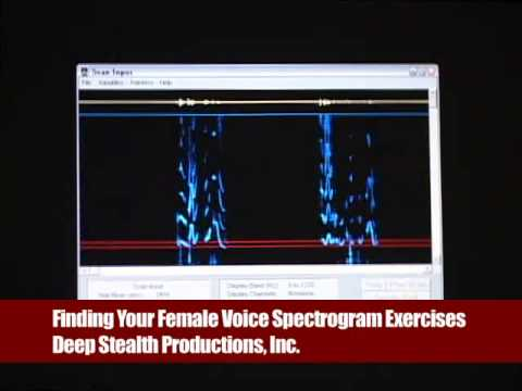 """""""Finding Your Female Voice - Spectrogram Exercises"""" with Andrea James"""