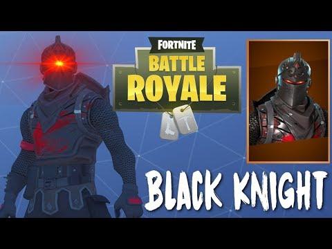 THE BLACK KNIGHT - Legendary Skin (Fortnite Battle Royale)
