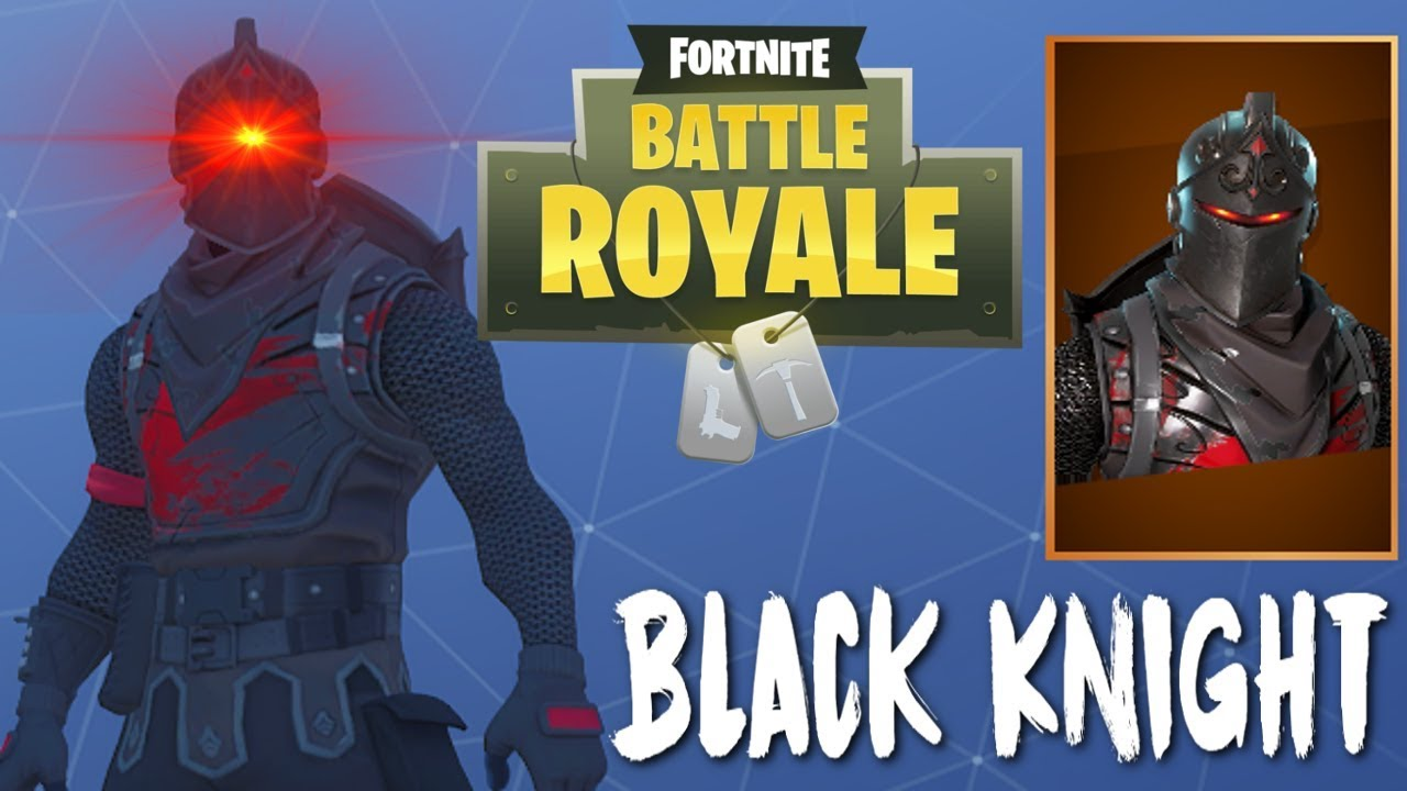 The Black Knight Legendary Skin Fortnite Battle Royale