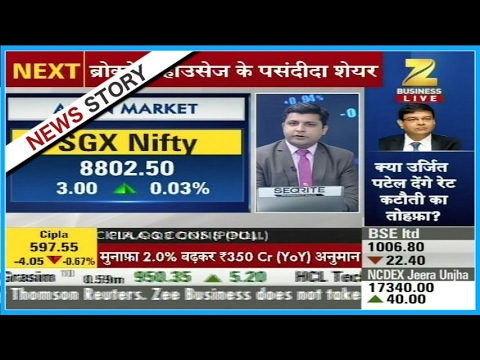 SGX Nifty trading at the levels of 8802