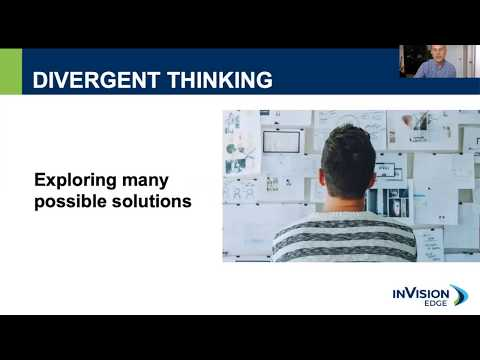 Go Deeper With Your Thinking: Take the Divergent Path | Webinar | inVision Edge