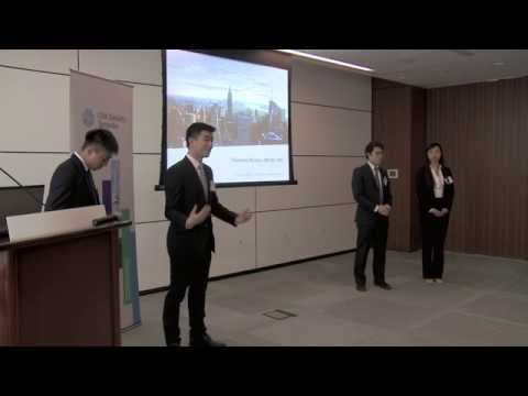 2015 CFA Institute Research Challenge - Toronto/Ottawa Local Level