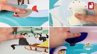 Puzzle Tactile Život na ledě Janod s texturou 20 d