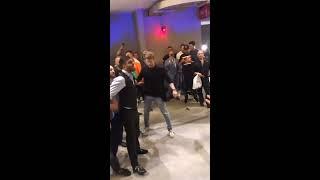 McGregor Vs Khabib tremenda trifulca después de la pela en el T-Mobile Arena en Las Vegas Nv.