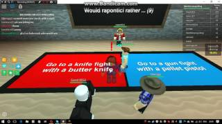 ROBLOX Would You Rather || Fabe's Games
