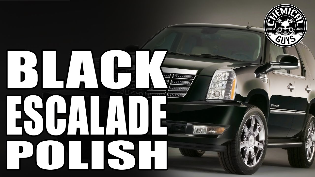How To Remove Swirl Marks And Scratches on Black Car - Cadillac Escalade -  Chemical Guys