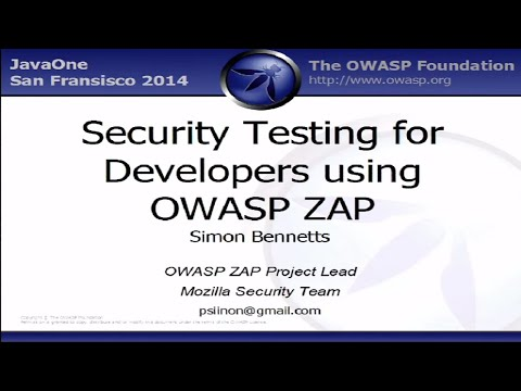 Security Testing for Developers Using OWASP ZAP