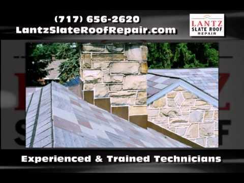 Roofing Lancaster PA - Lantz Slate Roof Repair