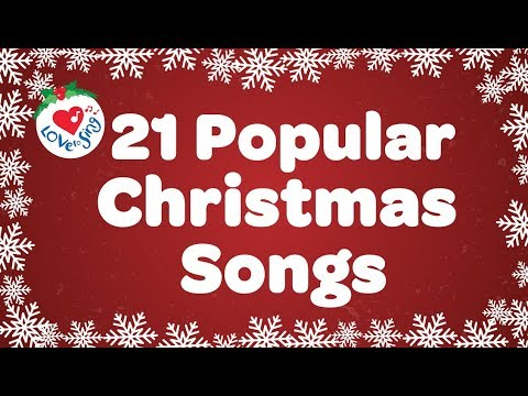 Top 21 Popular Christmas Songs and Carols Playlist 🎅