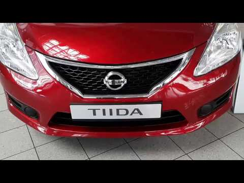 Nissan Tiida or Tida 2014 quick look GCC VERSION - UAE تيدا 2014