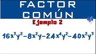 Factorización por Factor Común | Método 2 Ejemplo 2