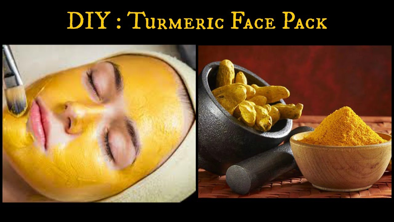 Fresh Cream And Turmeric Face Pack