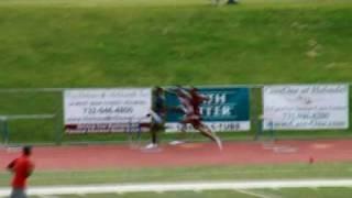 400m Hurdles at Holmdel New Jersey
