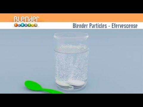 Blender Particles - Particulas de Blender